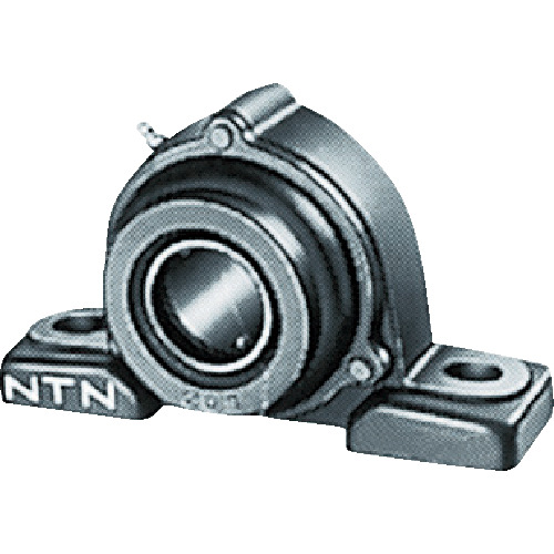 NTN G ベアリングユニット(円筒穴形止めねじ式)軸径90mm中心高101.6mm UCPX18D1