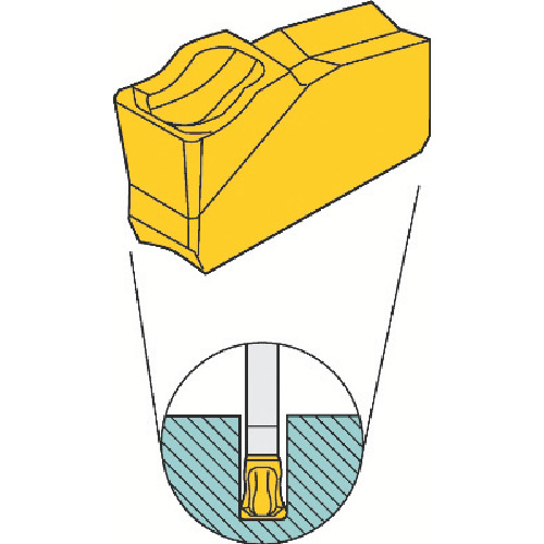 サンドビック T-Max Q-カッター用チップ 4230 10個 330.20-20-AA 4230