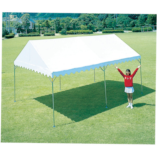 【直送】【代引不可】KOK(越智工業所) ウルトラハイブリッドテント サイズ2号 白 UHT-2X3-W