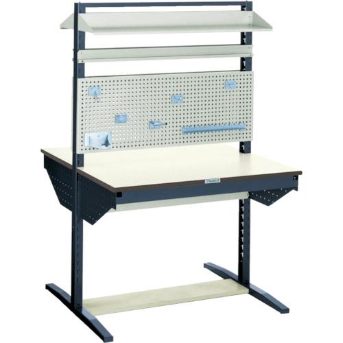 【直送】【代引不可】TRUSCO(トラスコ) ライン作業台 パネル・棚板付 両面 間口900 ULRT-W900B