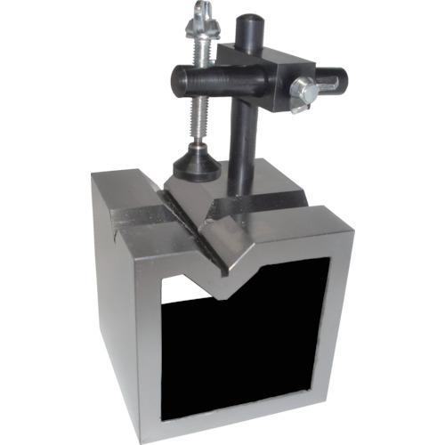 ユニセイキ V溝付桝型ブロック B級 100mm UV-100B