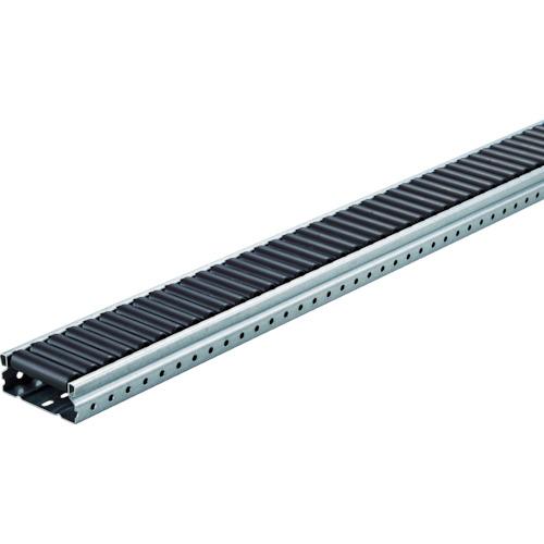 TRUSCO(トラスコ) 流動棚用 導電ホイールコンベヤ φ18ワイド P20XL3000 V-1870UD-25-3000