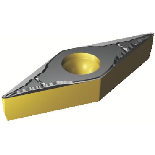 SANDVIK(サンドビック) コロターン107 旋削用ポジ・チップ COAT 10個 VBMT 16 04 04-PM 4325