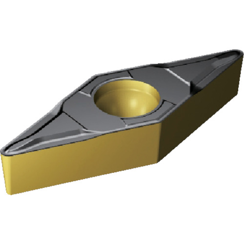 SANDVIK(サンドビック) コロターン107 チップ 2220 COAT 10個 VBMT 16 04 08-MF