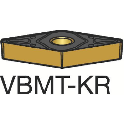サンドビック コロターン107 旋削用ポジ・チップ 3205 10個 VBMT 16 04 12-KR 3205