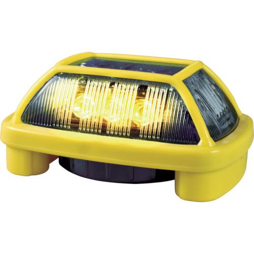 NIKKEI(日惠製作所) ニコハザードFAB VK16H型 LED警告灯 黄 VK16H-004F3Y
