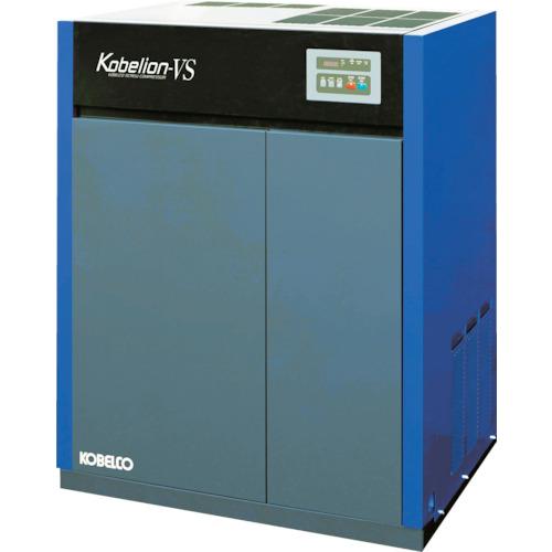 【直送】【代引不可】コベルコ 油冷式スクリューコンプレッサー VS115AD3