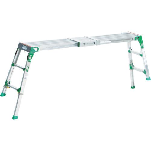 【直送】【代引不可】ALINCO(アルインコ) 伸縮天板・伸縮脚付足場台(アルミ合金製) 0.60~0.86m VSR1709F