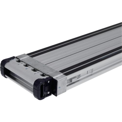 【直送】【代引不可】ALINCO(アルインコ) 伸縮式足場板VSSR―H スベリ止め付 VSSR300H