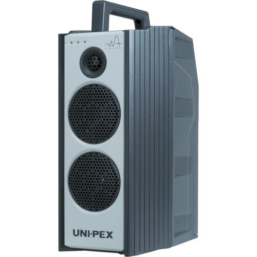 【直送】【代引不可】ユニペックス 防滴形ワイヤレスアンプ 300MHz帯 シングル CD/SD付 WA-371SU