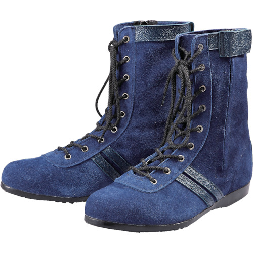 青木安全靴 高所作業用安全靴 WAZA-BLUE-ONE-24.5cm WAZA-BLUE-ONE-24.5