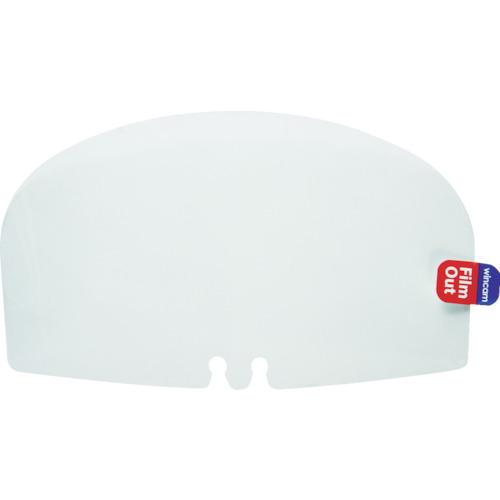 ム-ヴ・オン 透明衛生マスク ウィンカムヘッドセット用交換フィルム10枚入 10箱 W-HEADSETFILM-10