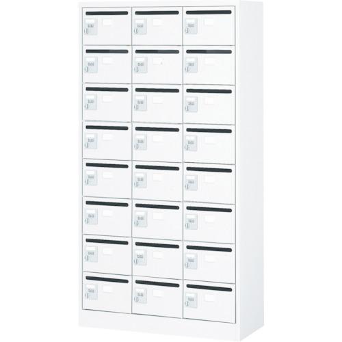 【直送】【代引不可】TRUSCO(トラスコ) メールボックス 24人用 手ぶらキー 900X380XH1700 WMVK-24P