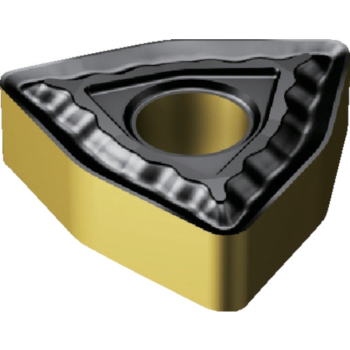 SANDVIK(サンドビック) T-MaxP チップ 2220 COAT 10個 WNMG 08 04 08-QM 2220