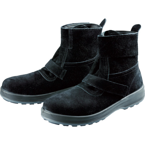 シモン(Simon) 安全靴 黒床 25.5cm WS28BKT-25.5