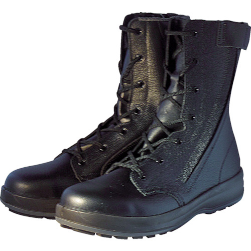 シモン(Simon) 安全踏抜入 長編上静電靴 WS33HiFR 24.0cm WS33HIFR-24.0