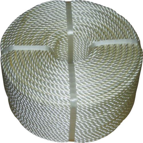 【直送】【代引不可】高木綱業 JISナイロンロープ 16.0mmX200m 36-7408
