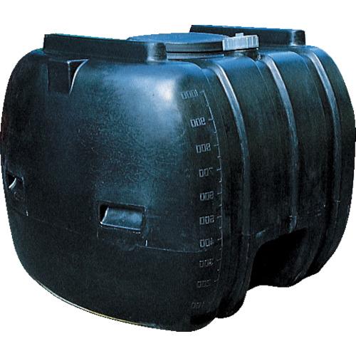 【直送】【代引不可】ダイライト YB型ローリータンク 黒色 1000L YB1000