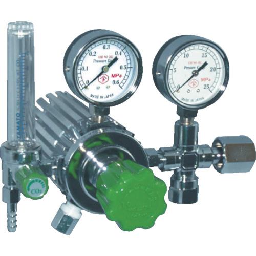 ヤマト産業 フィン付圧力調整器 炭酸ガス W22-14(右) YC-2F