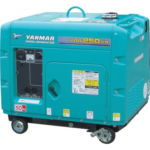 【直送】【代引不可】ヤンマー 空冷ディーゼル発電機 60Hz 3.3kVA(交流専用)セル付 YDG350VS-6E