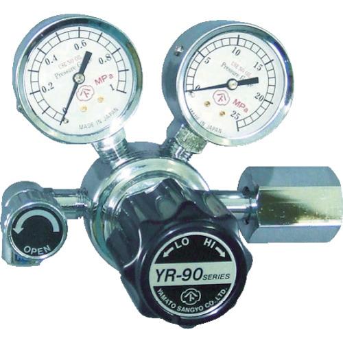 ヤマト産業 汎用小型圧力調整器 バルブ付 水素 YR90R12TRC
