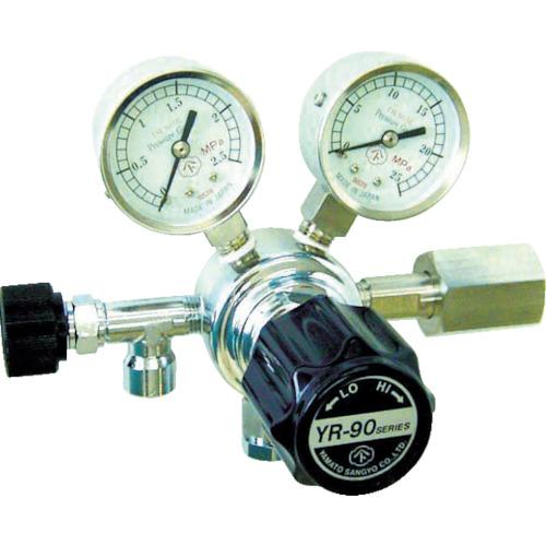 ヤマト産業 分析機用圧力調整器 ヘリウム YR90STRC13