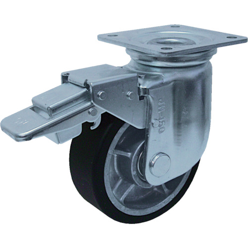 ヨドノ 重荷重用キャスター(MCナイロン車輪)200mm YRRJMB200