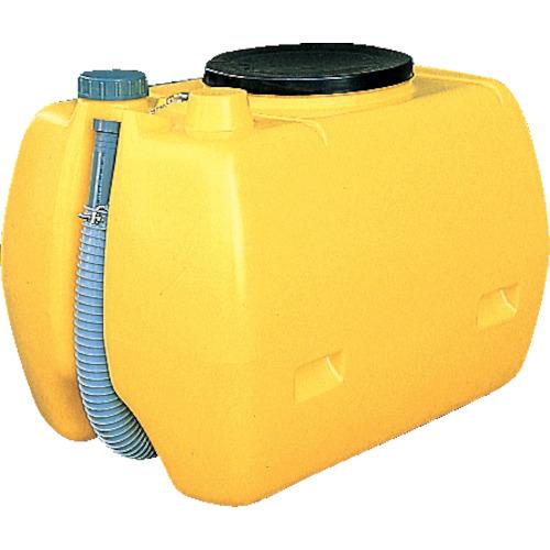 【直送】【代引不可】ダイライト YS型 屎尿 ローリータンク(ホース付)500L YS500
