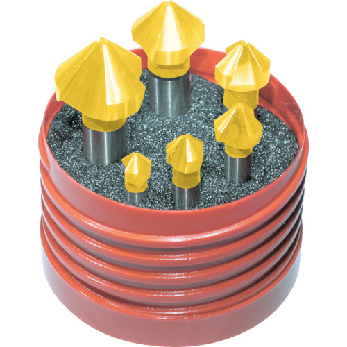 プロトティップ(ワルター) タイテックスチタンコーティングカウンターシンク6本セット Z3711TIN-6.3-20.5