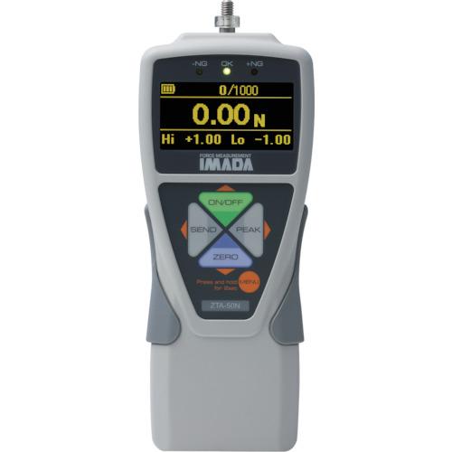 【直送】【代引不可】イマダ 標準型デジタルフォースゲージ(多機能タイプ) 使用最大荷重100N ZTA-100N