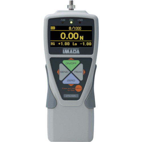 イマダ 標準型デジタルフォースゲージ 使用最大荷重50N ZTS-50N