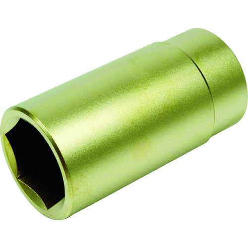 A-MAG(アーマグ) 防爆6角ディープソケット差込角1/2インチ用 対辺17mm 1個 0350007S