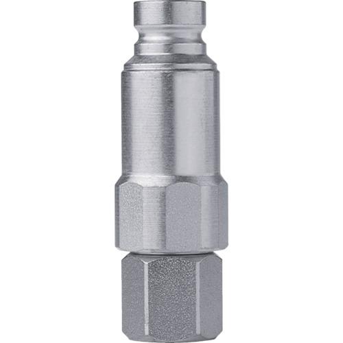 セイン シリーズ764 残圧除去機能付ニップル NPT1 メネジ 1個 10-764-6403