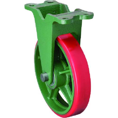 東北車輛製造所 標準型固定金具付ウレタン車輪 1個 250KULB