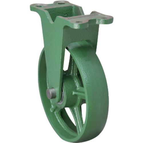【直送】【代引不可】東北車輛製造所 標準型固定金具付鉄車輪 1個 300KFB