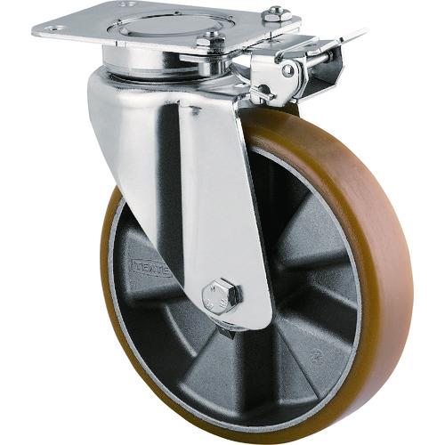 テンテキャスター 重荷重用高性能旋回キャスター(ウレタン車輪・メンテナンスフリー) 1個 3641ITP200P63 CONVEX