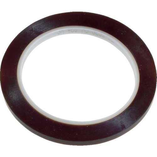 3M PTFEテープ電気絶縁テープ60 9mmX32.9m 1巻 60 9