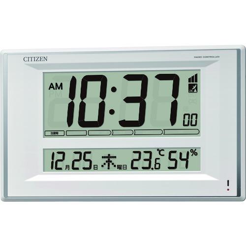 CITIZEN(シチズン) 電波時計(掛置兼用) 1個 8RZ198-003