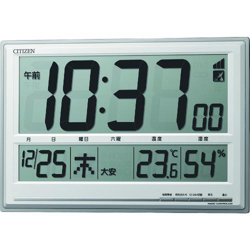 CITIZEN(シチズン) 電波時計(掛置兼用) 1個 8RZ199-019