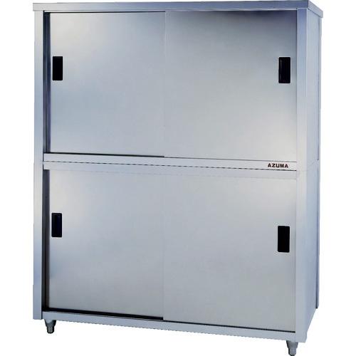 【直送】【代引不可】azuma(東製作所) 上下二段式ステンレス保管庫 1500×600×1800 1台 ACS-1500H