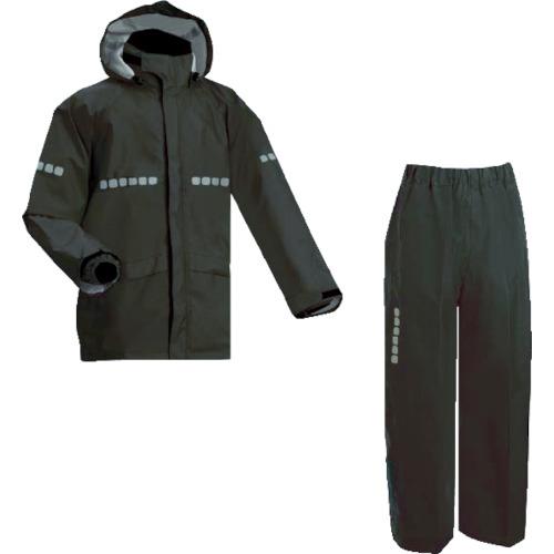 MAEGAKI(前垣) AP1000ワーキングレインスーツ ブラック 4Lサイズ 1着 AP1000 BLK 4L