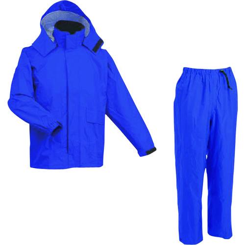 MAEGAKI(前垣) AP600透湿レインスーツ ロイヤルブルー Lサイズ 1着 AP600 R.BLUE L