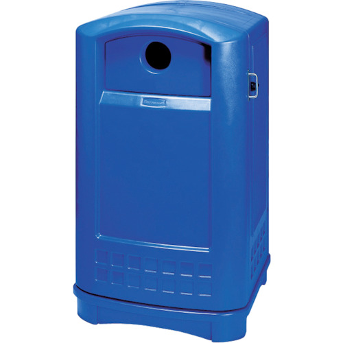 ラバーメイド プラザボトル/缶・リサイクルコンテナ ブルー 39687365