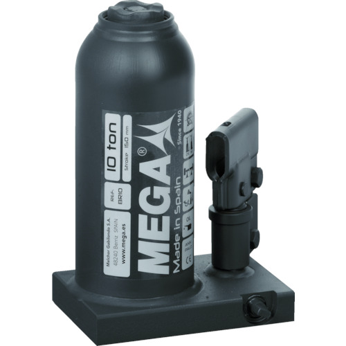 MEGA(メガ) ボトルジャッキ 10トン 1台 BR10G