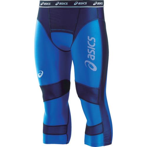 ASICS(アシックス) ウィンジョブセミロングタイツ ブルー L 1着 CH5002.42-L