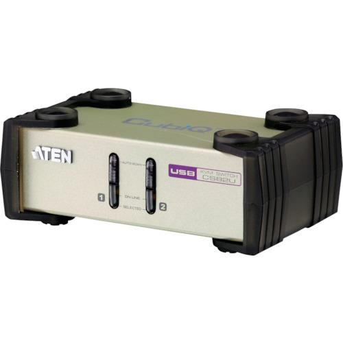 ATEN(エイテン) KVMスイッチ 2ポート PS 2 USB VGA 1台 CS82U