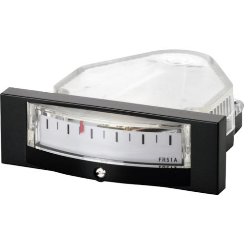 Manostar(マモスター) 微差圧計 マノスターゲージ [パネル横目盛形] 1台 FR51AHV3E