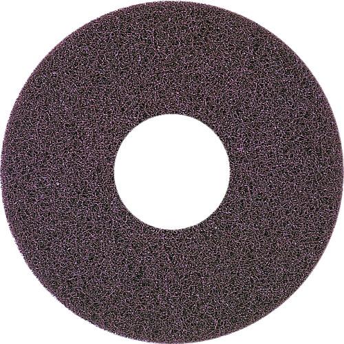 アマノ 自動床面洗浄機EG用パッド茶 17インチ 5枚 HFU202200