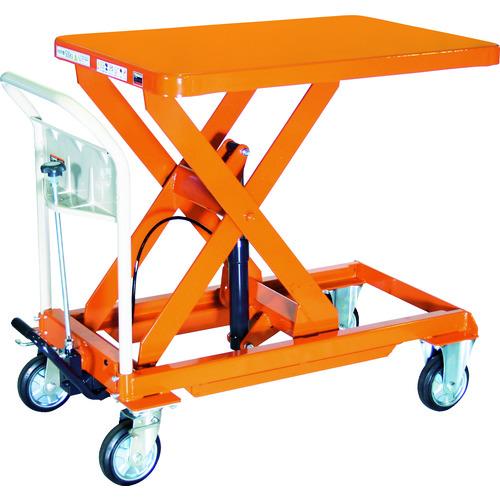 <title>直送 代引不可 TRUSCO トラスコ ハンドリフター 500kg 600X900 オレンジ HLFA-E500 チープ</title>