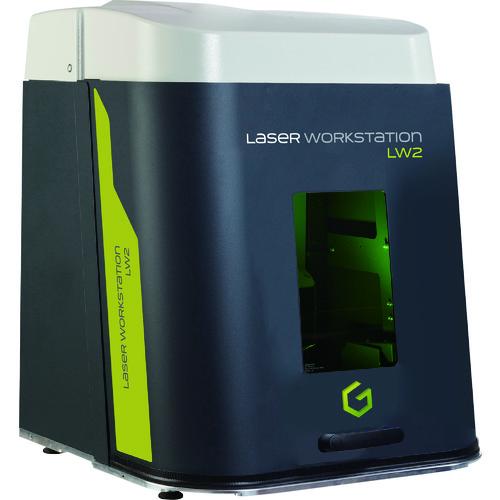 【直送】【代引不可】グラボテック レーザーマーカー用ワークステーション 1S LW2
